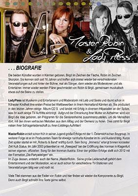 Biografie MasterRobin & LadyPless